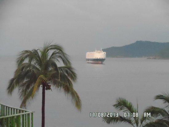 Hotel Tortuga Acapulco: vista desde la habitacion
