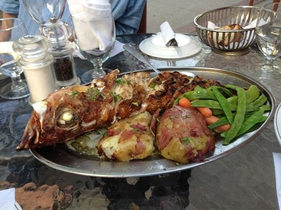 Orlando's Seafood Grill: Rockfish par excellence