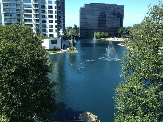 DoubleTree Club by Hilton Orange County Airport: View from 5th floor lakeside room