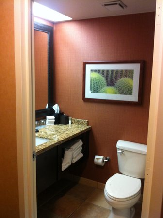 Hyatt Regency Phoenix: Bathroom