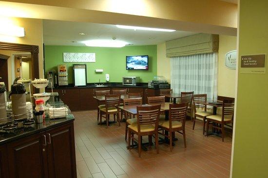 Sleep Inn : Breakfast area