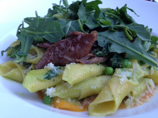 The Restaurant at Painted Boat: Garganelli with Duck confit