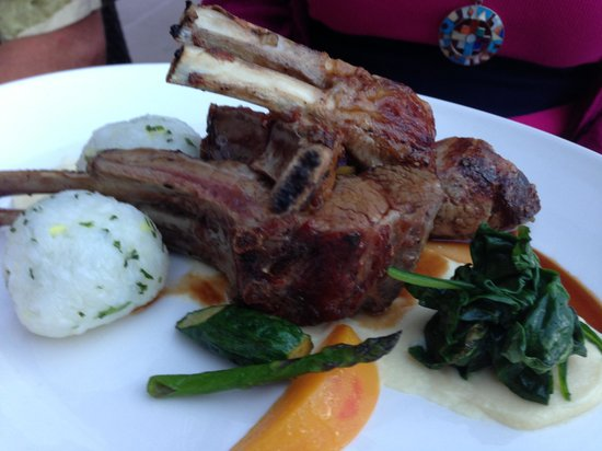 The Restaurant at Painted Boat: Rack of Lamb
