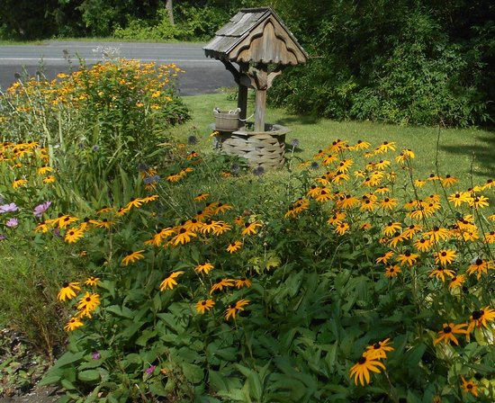 Berkshire Hills Country Inn: Flowers on the grounds