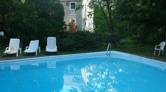 Berkshire Hills Country Inn : Pool area