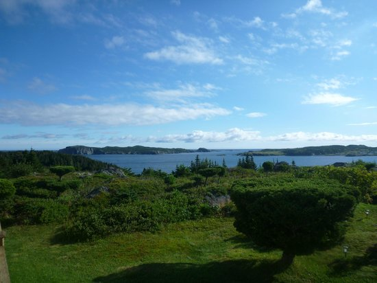 Paradise B&B: Panaramic View from B+ B of Ocean and Twillingate