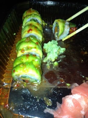 Yo Sake Downtown Sushi Lounge: FARMHOUSE ROLL TAKE OUT
