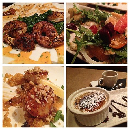 Cedar Street Grille: Started eating the meal before I took pictures. Sorry :)