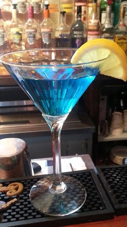 G.P.'s Gathering Spot: Blutini - very special drink!