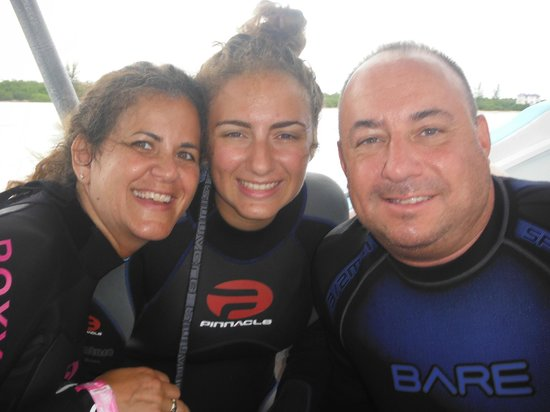 Blue Angel Scuba School: Diving is such a great family activity - a passion & love that we can all share together
