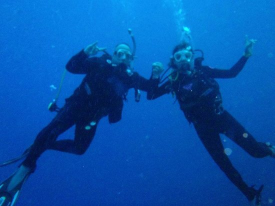 Blue Angel Scuba School: We did it!!!! Advanced Open Water Divers - Great course! Made us such better divers - thanks Mat