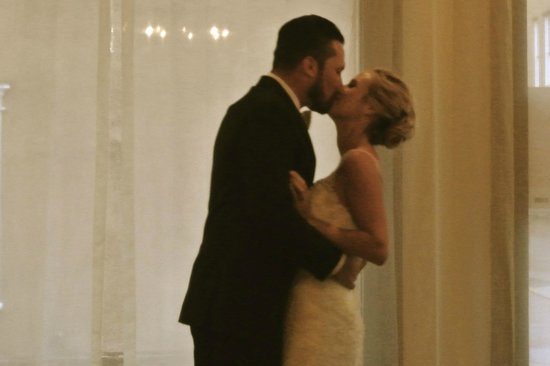 Hotel St. Francis: Our first dance