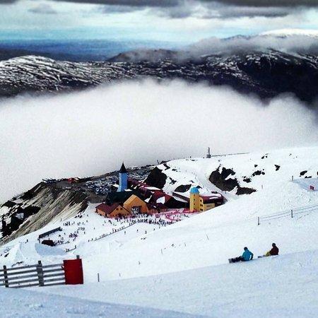 Cardrona Alpine  Resort: Main resort village