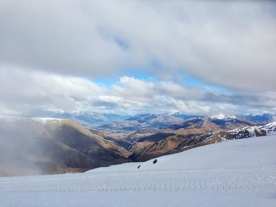 Cardrona Alpine  Resort: Views from the mountain