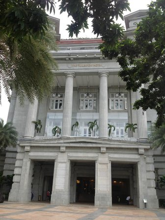 The Fullerton Hotel Singapore: 外観