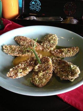 Mango Rooms: vege tempura