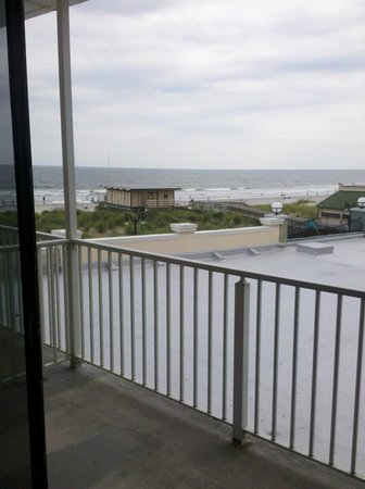 Days Inn Atlantic City Oceanfront-Boardwalk: Great view!