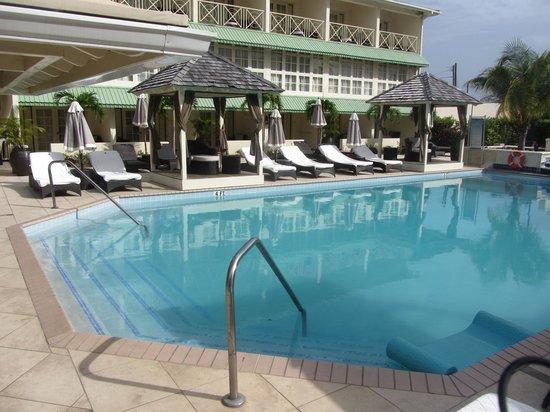 blu St Lucia: Pool Area