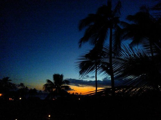 Suite Paradise: Sunset from the lanai