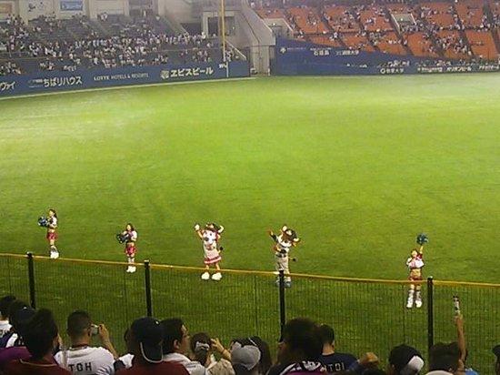 ZOZO Marine Stadium : レフトスタンドからの写真