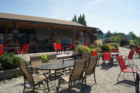 Bench 1775 Winery: Amazing patio!