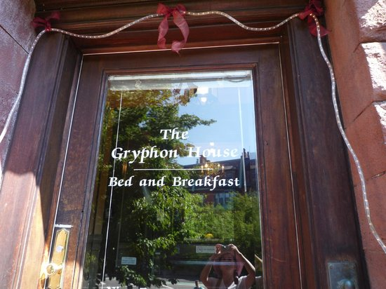 The Gryphon House: The Entrance Door