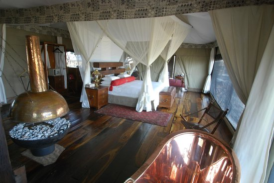 """Great Plains Conservation Zarafa Camp: Our """"tent"""""""