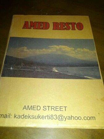 Amed Resto: menu
