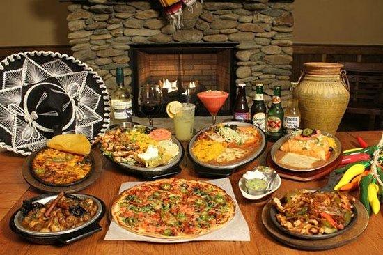 Casa Maya: Food Layout