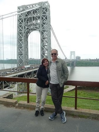 George Washington Bridge: Vista do parque