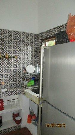 Hotel Paraiso Escondido: Cocina