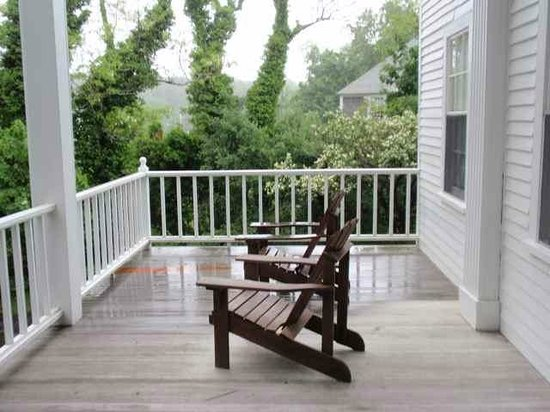 The Wagner at Duck Creek: back porch