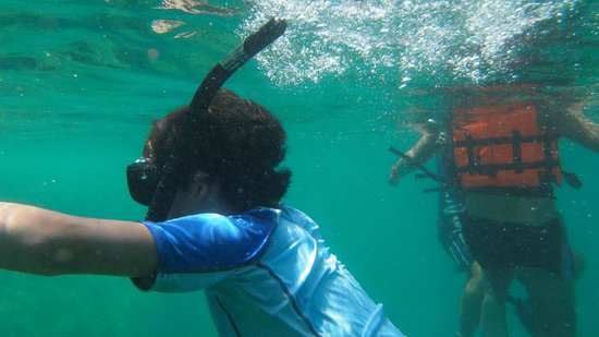 Mermaids Dive Center Pattaya: Snorkeling for whole family