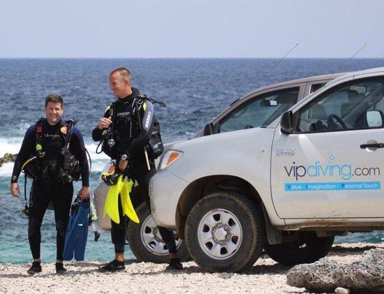 VIP Diving: Happy divers