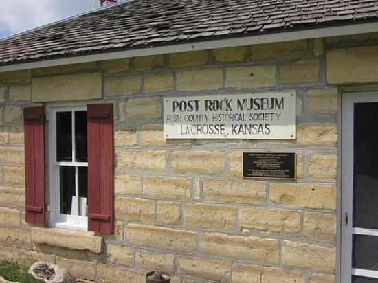 La Crosse, KS: Post Rock Museum