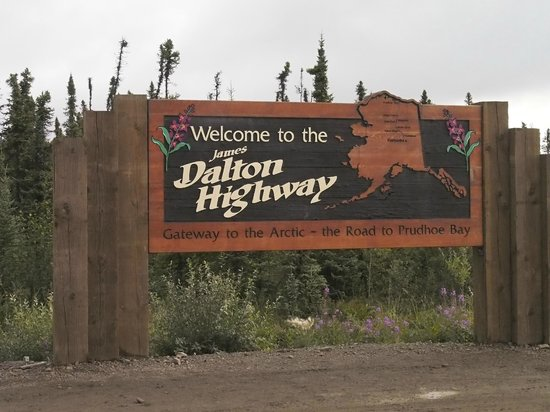 Northern Alaska Tour Company: The Dalton Highway was built to build the pipeline.