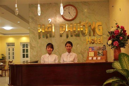 Hai Phuong Hotel: Reception