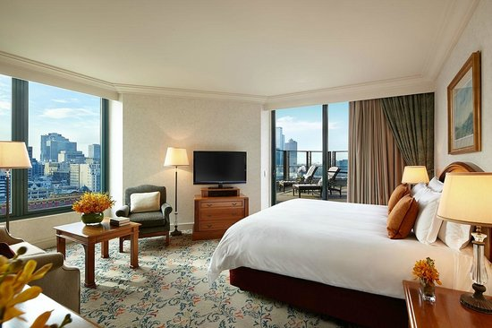 The Langham, Melbourne: Club Terrace Room - Bookable only via official Langham Website