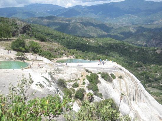 Hierve el Agua: Pools