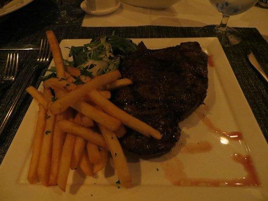 The Cove Eleuthera: juiciest steak ever!