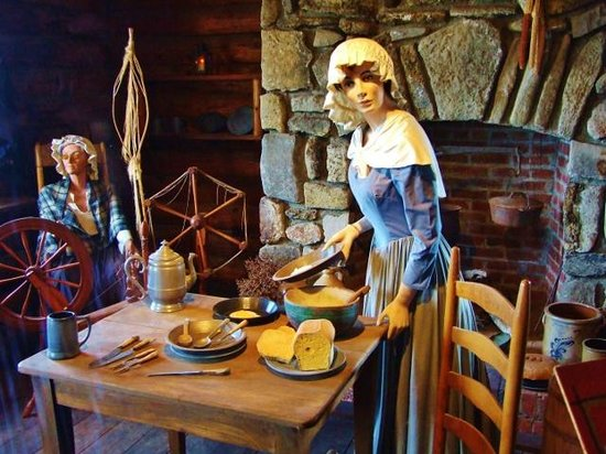 Fort William Henry : Dioramas show life inside the fort