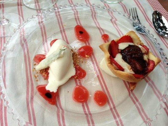 Hotel Restaurant des Deux Rocs : Dessert
