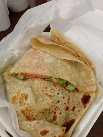 DJ's Taco Bar: Quesadilla's were awesome too!