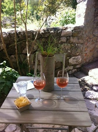 La Vieille Bergerie: Welcome rose on our terrace