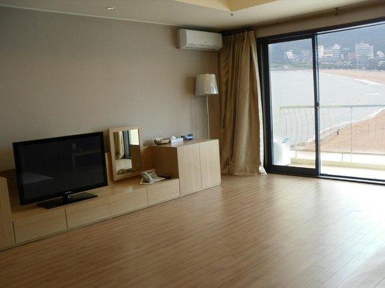 Songjung Hotel : Ondol room
