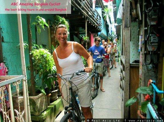 ABC Amazing Bangkok Cyclist: Down the tiny alley