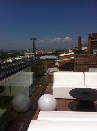 Hotel Exe Moncloa : Roof terrace