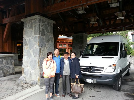 Nita Lake Lodge: Shuttle Service