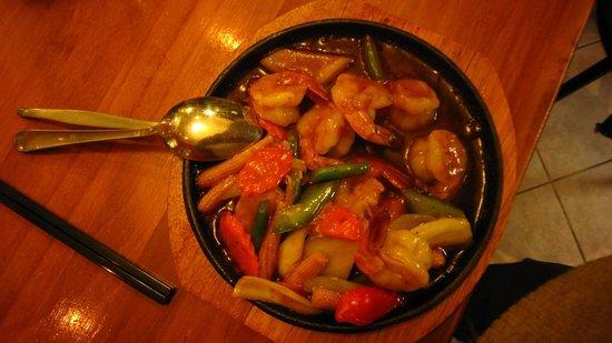Mylyn: Prawns in tamarind sauce