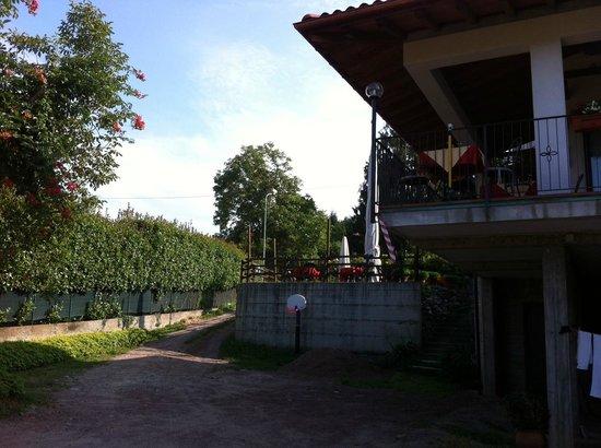 Locanda Verbena: Innenhof